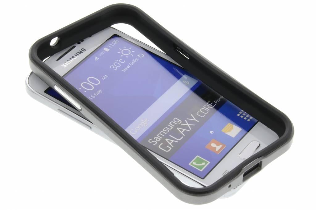 Grijze bumper voor de Samsung Galaxy Core Prime