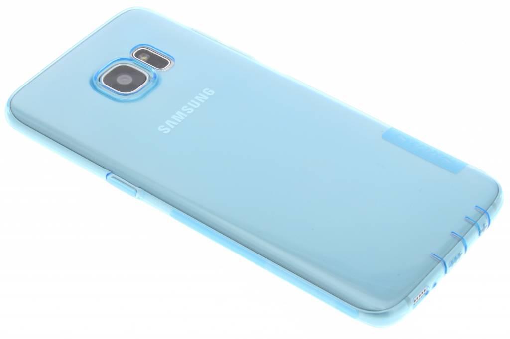 Nature TPU case voor de Samsung Galaxy S7 Edge - Blauw