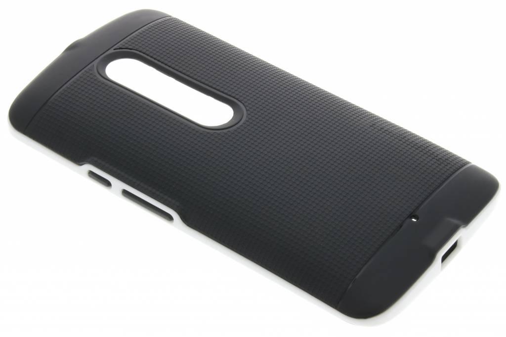 Witte TPU Protect case voor de Motorola Moto X Play