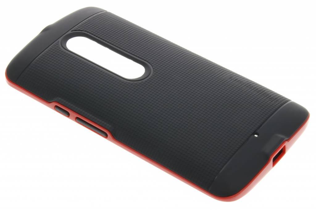 Rode TPU Protect case voor de Motorola Moto X Play