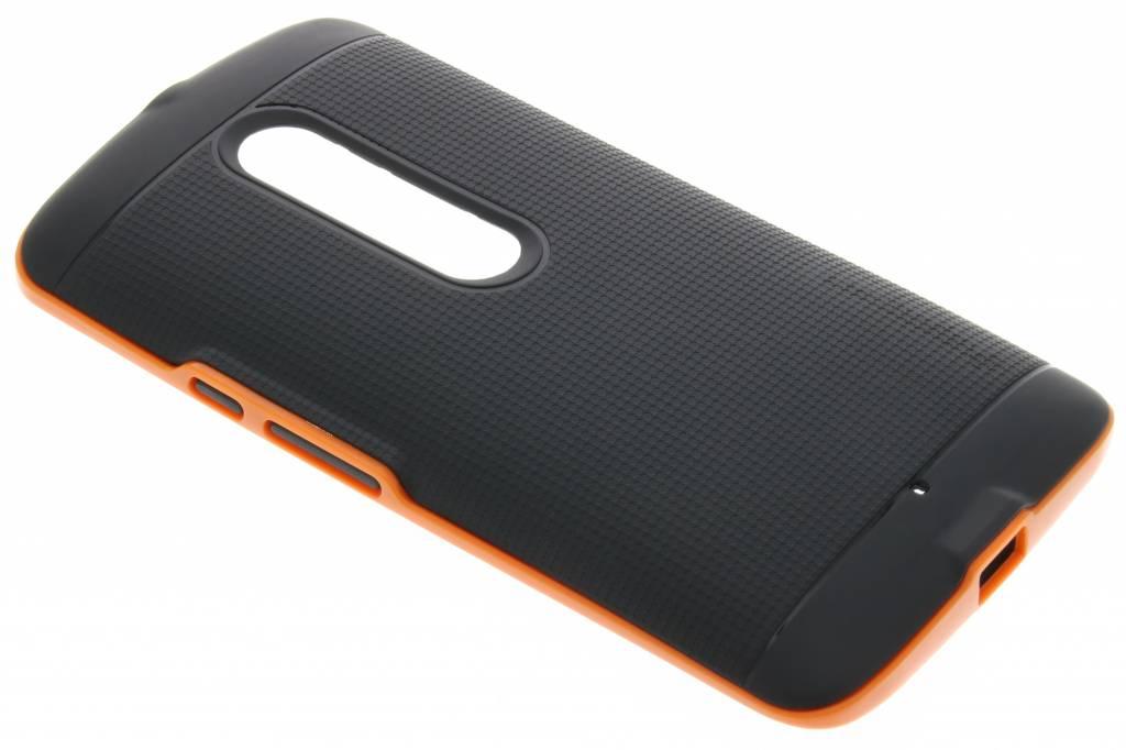 Oranje TPU Protect case voor de Motorola Moto X Play