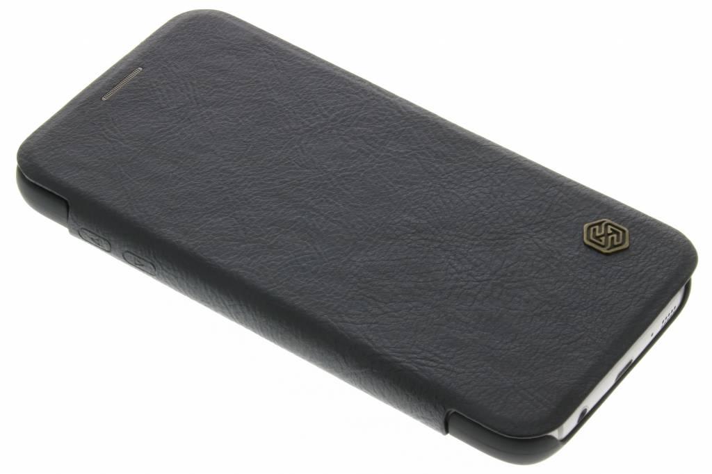 Nillkin Qin Leather slim booktype hoes voor de Samsung Galaxy S7 - Zwart