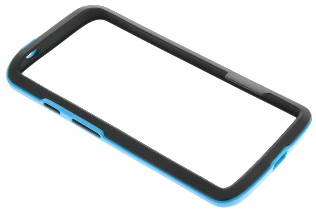 Blauwe bumper voor de Motorola Moto X Force