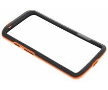 Oranje bumper Motorola Moto X Force