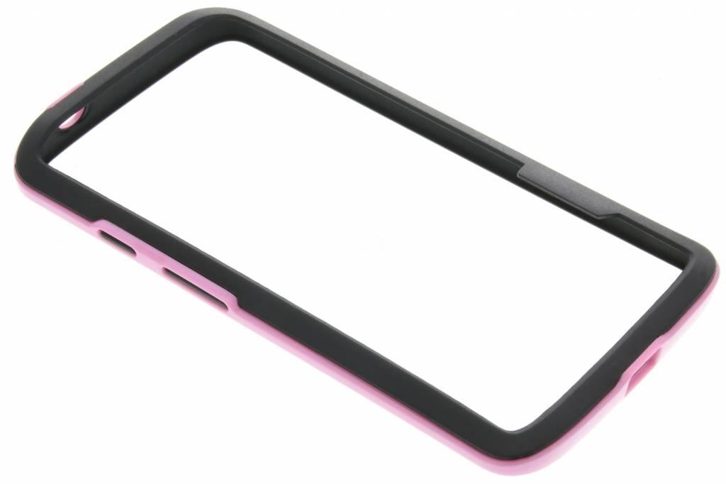 Roze bumper voor de Motorola Moto X Force