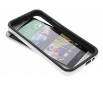 Zilver bumper HTC One M8 / M8s
