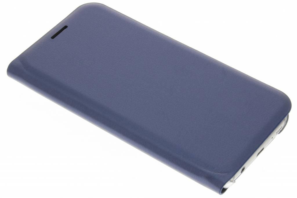 Donkerblauwe luxe slim booktype hoes voor de Samsung Galaxy S7