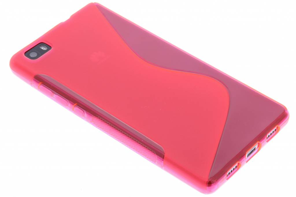 Rosé S-line TPU hoesje voor de Huawei P8 Lite