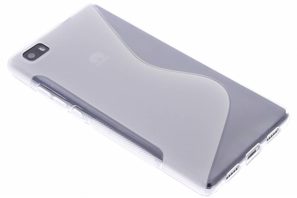 Transparant S-line TPU hoesje voor de Huawei P8 Lite