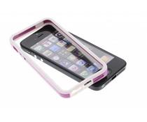 Paars met witte bumper iPhone 5 / 5s / SE