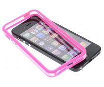 Fuchsia transparante bumper iPhone 5 / 5s / SE
