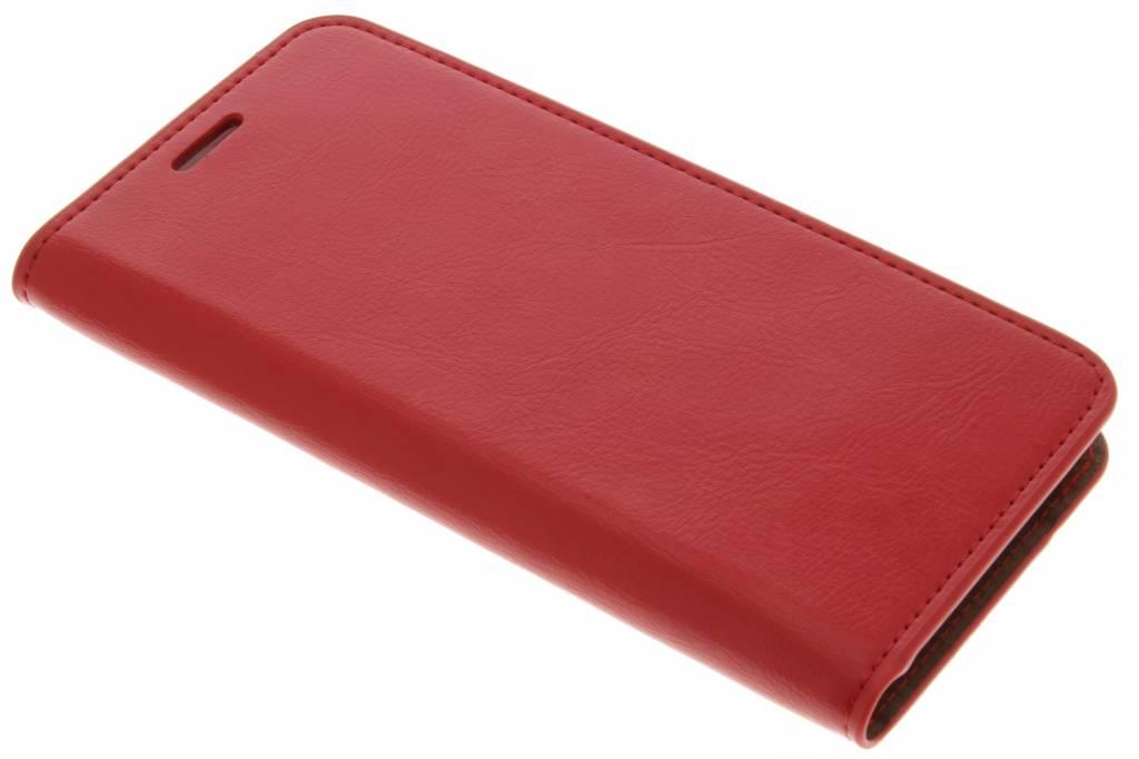 Rode zakelijke booktype hoes voor de Samsung Galaxy S7 Edge