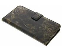 Bruin marmer booktype hoes LG G5 (SE)