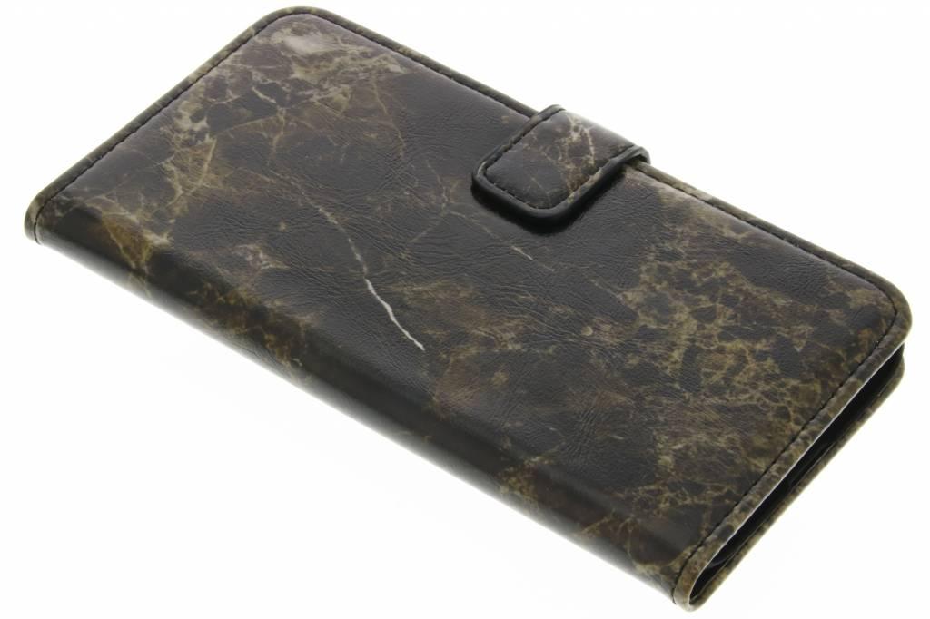 Bruine marmer booktype hoes voor de LG G5 (SE)