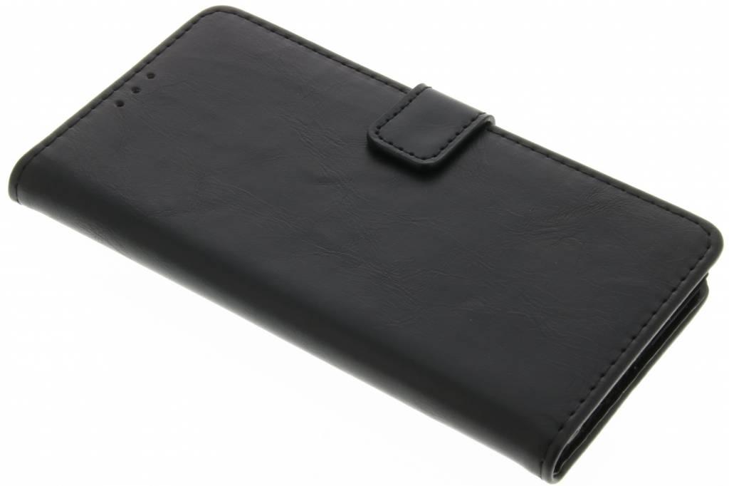 Cuir De Luxe Gris Brun Type De Livre Pour Huawei, Plus P9