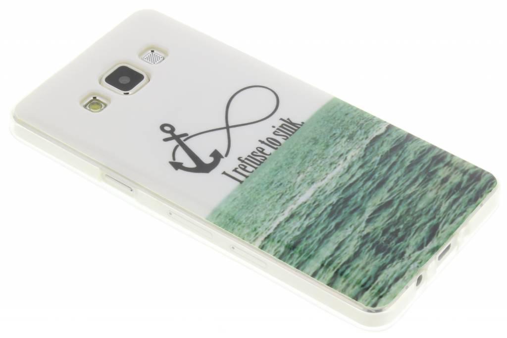 Anker design TPU siliconen hoesje voor de Samsung Galaxy A5