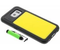 Lumdoo Duo Cover Samsung Galaxy S6 - Geel