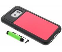 Lumdoo Duo Cover Samsung Galaxy S6 - Rood