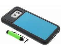 Lumdoo Duo Cover Samsung Galaxy S6 - Lichtblauw