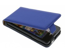 Mobiparts Premium flipcase Huawei Ascend Y300 - Blue