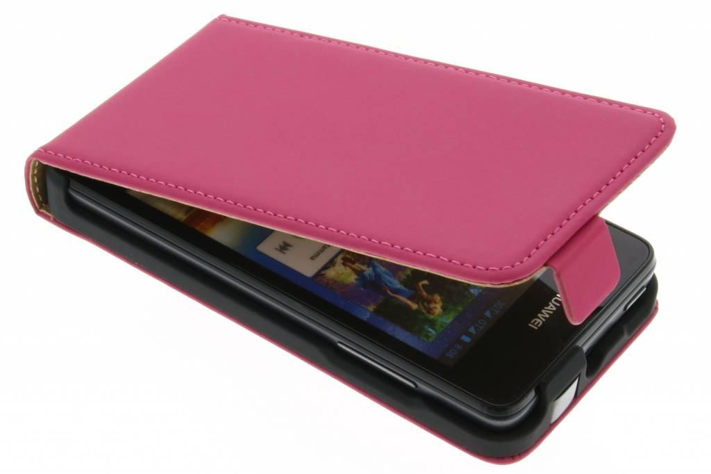 Mobiparts Premium flipcase voor de Huawei Ascend Y300 - Pink