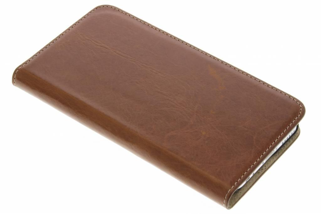 Mobiparts Excellent Wallet Case voor de iPhone 6 / 6s - Oaked Cognac