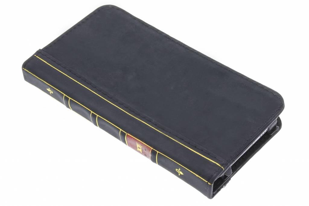 Zwarte boek booktype hoes voor de iPhone 6(s) Plus