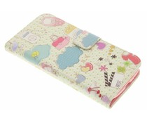 Design TPU booktype hoes Samsung Galaxy S3 / Neo