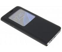 Slim booktype hoes met venster Galaxy S7 Edge