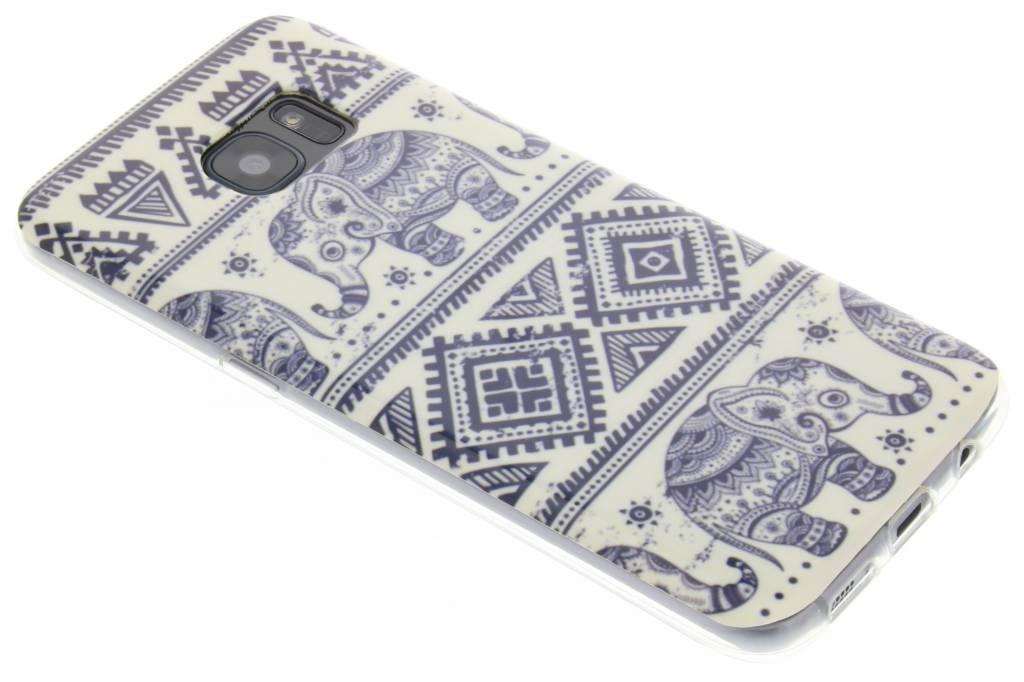 Olifant design TPU hoesje voor de Samsung Galaxy S7 Edge