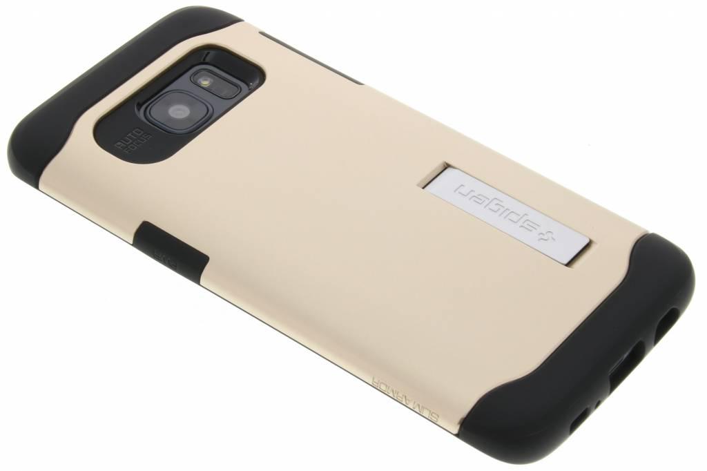 Spigen Slim Armor Case voor de Samsung Galaxy S7 Edge - Champagne Gold