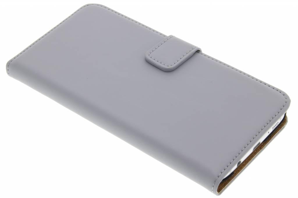 Selencia Luxe Book Case voor de Samsung Galaxy S7 Edge - Grijs