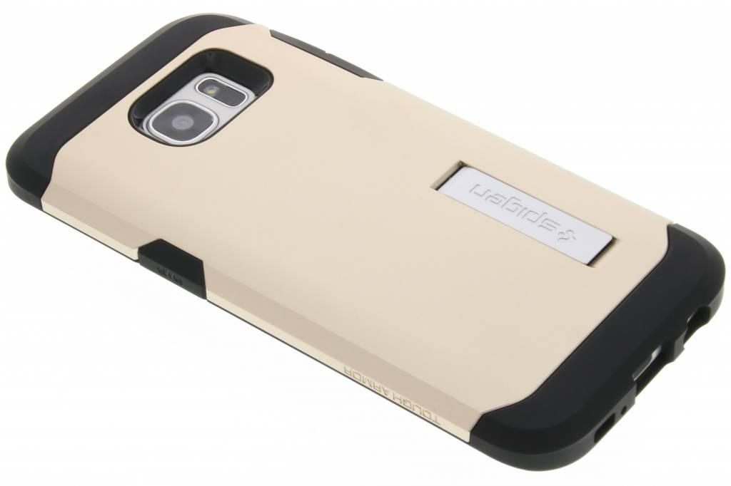Spigen Tough Armor Case voor de Samsung Galaxy S7 Edge - Goud