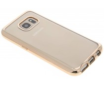 Goud TPU hoesje met metallic rand Samsung Galaxy S7