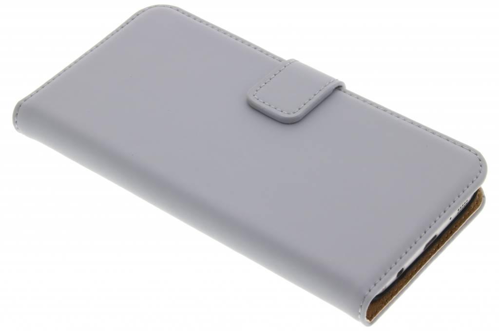 Selencia Luxe Book Case voor de Samsung Galaxy S7 - Grijs