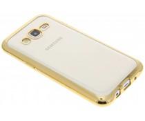 Goud TPU hoesje met metallic rand GalaxyJ5