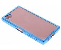 TPU hoesje met metallic rand Sony Xperia Z5 Compact