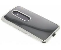 TPU hoesje met metallic rand Motorola Moto G 3rd Gen 2015