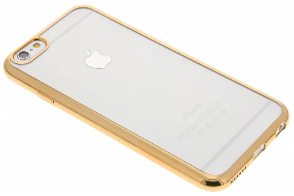 Goud TPU hoesje met metallic rand voor de iPhone 6 / 6s