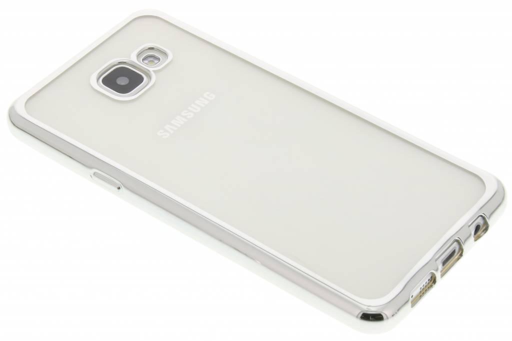 Zilver TPU hoesje met metallic rand voor de Samsung Galaxy A5 (2016)