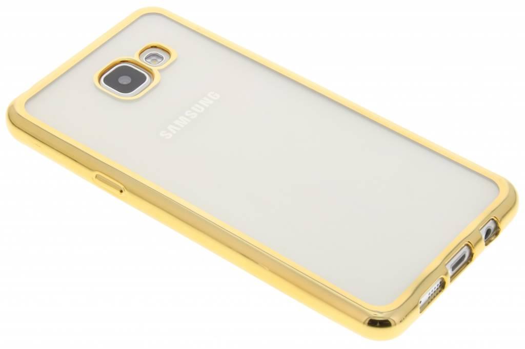Goud TPU hoesje met metallic rand voor de Samsung Galaxy A5 (2016)