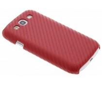 Carbon look hardcase hoesje Samsung Galaxy S3 / Neo