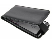 Zwart stijlvolle flipcase LG G4