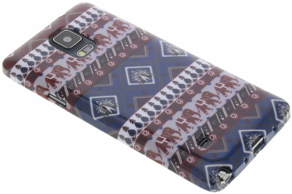 Aztec design TPU siliconen hoesje voor de Samsung Galaxy Note 4