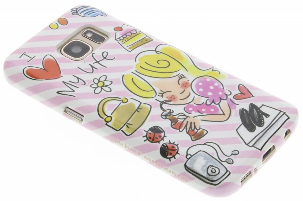 Image of I love my life softcase voor de Samsung Galaxy S7