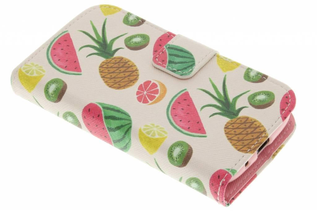 Fruit design TPU booktype hoes voor de Samsung Galaxy Ace 2