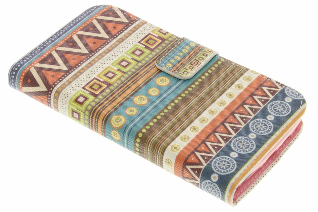 Aztec design TPU booktype hoes voor de LG G2