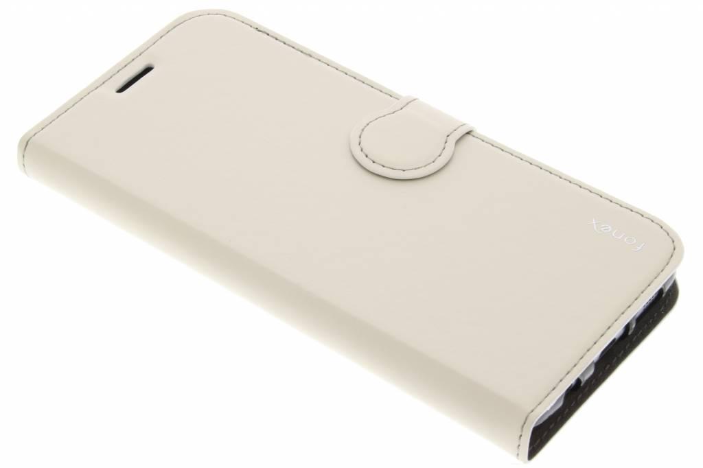 Fonex Identity Bookcase voor de Samsung Galaxy S7 Edge - Wit