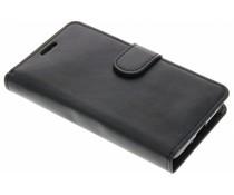Zwart effen TPU booktype hoes LG L Fino / L70 Plus
