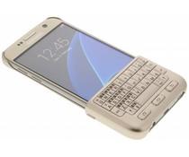 Samsung Keyboard Cover Galaxy S7 - Goud